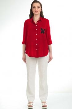 Блузка Диамант 1172-3 красный