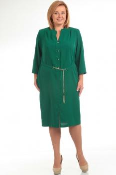 Платье Диамант 1194-1 зелёный