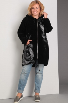 Куртка Диамант 1201 чёрный