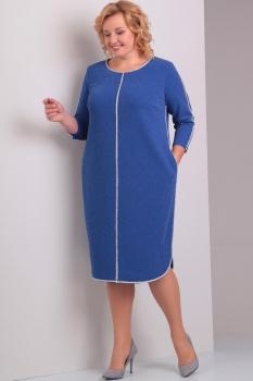 Платье Диамант 1220-1 синий