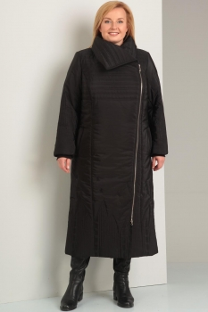 Пальто Диамант 1235 чёрный