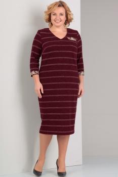 Платье Диамант 1251-1 красный