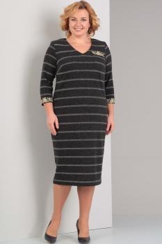 Платье Диамант 1251 серый