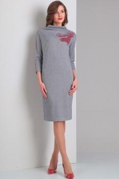 Платье Диамант 1260 серый