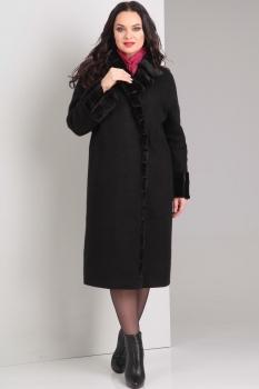 Пальто Диамант 1269 чёрный