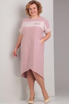 Платье Диамант 1277-1 розовый