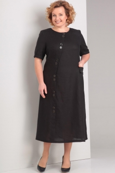 Платье Диамант 1280-1 чёрный