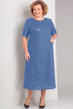 Платье Диамант 1280 синий