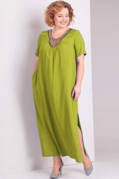 Платье Диамант 1281-1 фисташковый