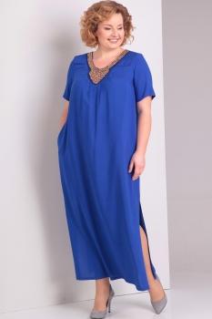 Платье Диамант 1281 синий
