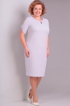 Платье Диамант 1284-1 пудра