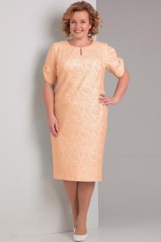 Платье Диамант 1284 персик