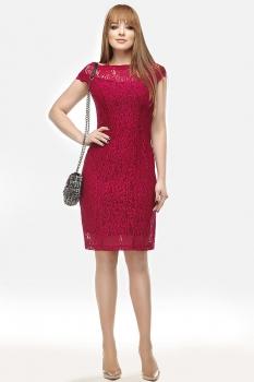 Платье Dilanavip 1060 бордовый