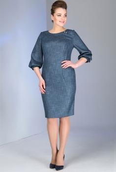 Платье Dilanavip 1078-1 серый
