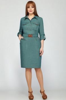 Платье Dilanavip 1113-1 синие-тона