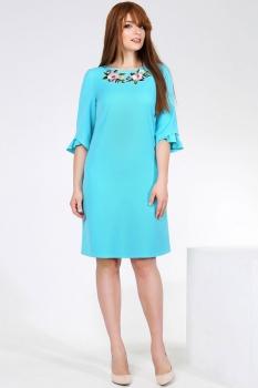 Платье Dilanavip 1114 голубые-тона