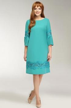 Платье Dilanavip 1123-2 бирюзовый