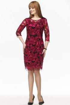 Платье Dilanavip 1125-2 красный