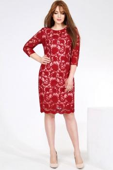Платье Dilanavip 1125 красный