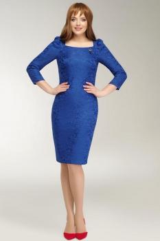 Платье Dilanavip 1127-1 васильковый