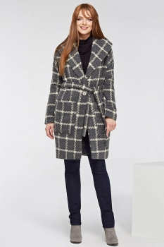 Пальто Dilanavip 1133 серый