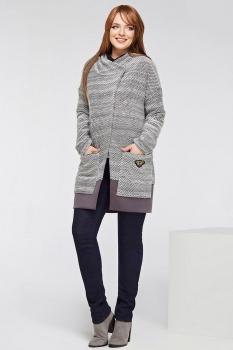 Пальто Dilanavip 1135 серый