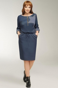 Платье Dilanavip 1140 синий