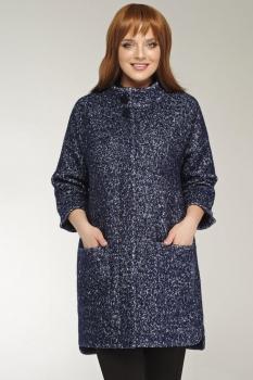Пальто Dilanavip 1141 темные-тона