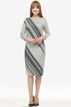 Платье Dilanavip 1146 серый