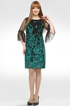 Платье Dilanavip 1154-1 зеленый