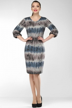Платье Dilanavip 1156-1 полоска