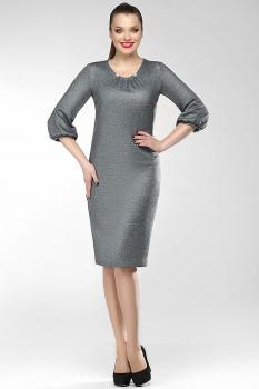 Платье Dilanavip 1156 серый