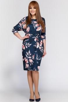 Платье Dilanavip 1158-1 синий