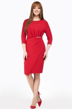 Платье Dilanavip 1159-1 красный