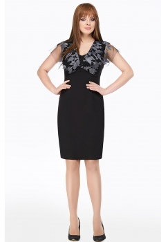 Платье Dilanavip 1164-1 серый