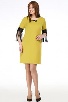 Платье Dilanavip 1165 горчица