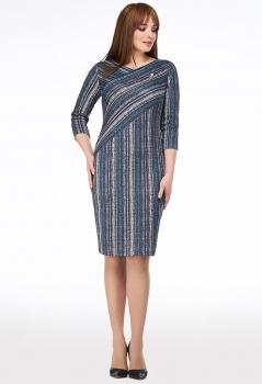 Платье Dilanavip 1167 синие-тона