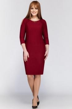 Платье Dilanavip 1171 бордовый