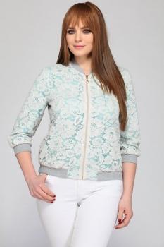 Куртка Dilanavip 1172-2 голубые-тона