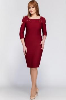 Платье Dilanavip 1174 бордовый