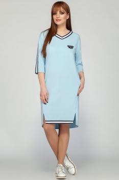 Платье Dilanavip 1175 голубой