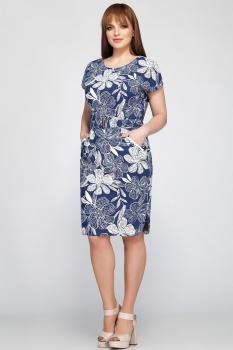 Платье Dilanavip 1181 синий