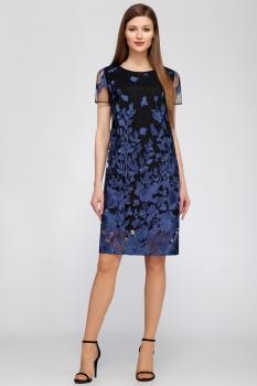 Платье Dilanavip 1195-1 синий