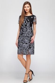 Платье Dilanavip 1195-2 серый