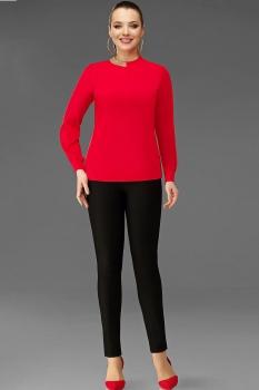 Блузка DiLiaFashion 0054 красный