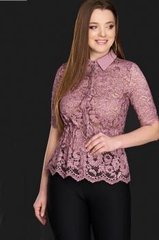 Блузка DiLiaFashion 0106-3 фиолетовый