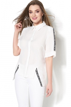 Блузка DiLiaFashion 108 белый