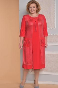 Платье Diomel 459-7 красный