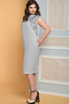 Платье Diomel 542-1 серый