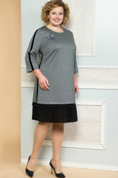 Платье Diomel 543 серый